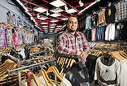 "Guillermo ""Memo"" Calderon, from Grand Island and owner of Glam, is pictured at the store which is located inside Conestoga Mall in Grand Island. (Independent/Crystal LoGiudice)"