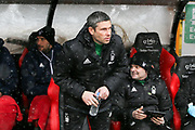 Aitor Karanka Manager of Nottingham Forest during the EFL Sky Bet Championship match between Sheffield United and Nottingham Forest at Bramall Lane, Sheffield, England on 17 March 2018. Picture by Mick Haynes.