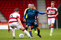 Kyle Bennett of Bristol Rovers takes on Ben Sheaf of Doncaster Rovers - Mandatory by-line: Robbie Stephenson/JMP - 19/10/2019 - FOOTBALL - The Keepmoat Stadium - Doncaster, England - Doncaster Rovers v Bristol Rovers - Sky Bet League One