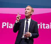Jim Murphy MP <br /> Shadow International Development Minister <br /> Labour Party Conference, Manchester, Great Britain <br /> 22nd September 2014 <br /> <br /> Jim Murphy MP <br /> <br /> <br /> <br /> Photograph by Elliott Franks <br /> Image licensed to Elliott Franks Photography Services