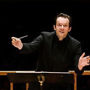 Andris Nelsons conducts the Boston Symphony Orchestra at Boston's Symphony Hall