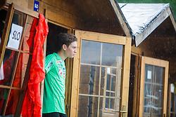 Anze Lanisek of Slovenia during Ski Jumping Continental Cup in Kranj, Slovenia Photo by Grega Valancic / Sportida