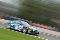Team Parker Racing #66 Porsche Cayman GT4 Clubsport MR Nick Jones/Scott Malvern GT4 Pro/AM  during British GT Championship as part of the BRDC British F3/GT Championship Meeting at Oulton Park, Little Budworth, Cheshire, United Kingdom. April 14 2017. World Copyright Peter Taylor/PSP.