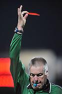 22-08-2008: Voetbal: RKC WAALWIJK:GO AHEAD EAGLES:WAALWIJK <br /> Het afscheidstoernee van Roelof Luinge begint in Waalwijk die meteen de rode kaart mocht trekken<br /> Foto: Geert van Erven