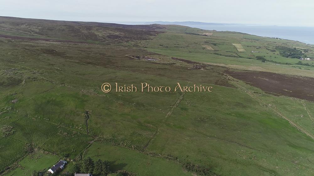 Glens of Antrim Ireland aerial view June 2018 aerial photos