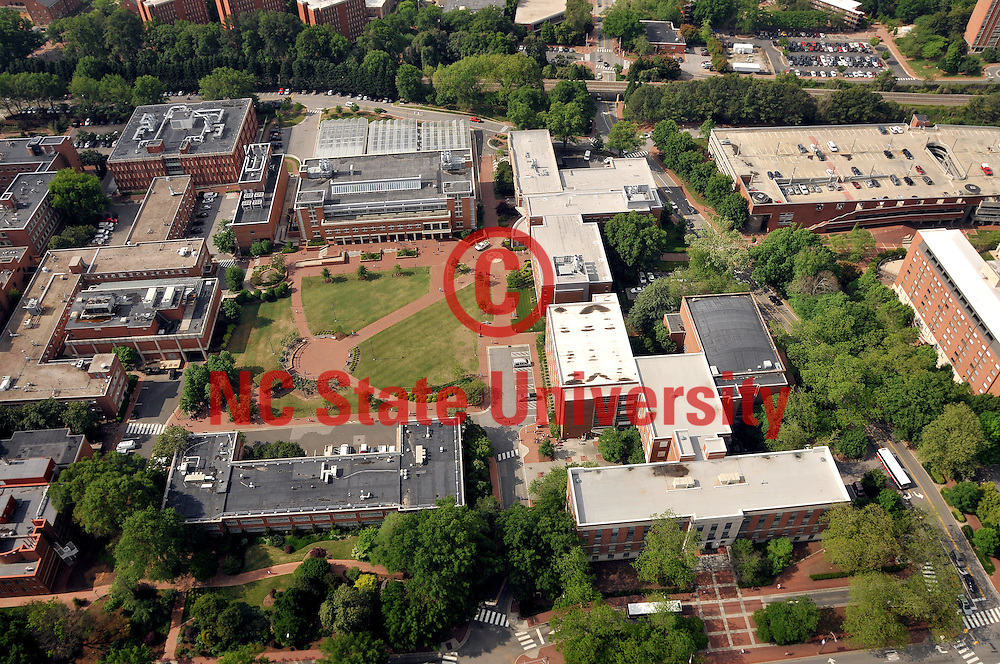 Aerial view of main campus.