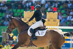 Danielle Goldstein, (ISR), Carisma - First Round Team Competition Jumping Speed - Alltech FEI World Equestrian Games™ 2014 - Normandy, France.<br /> © Hippo Foto Team - Leanjo De Koster<br /> 03-09-14