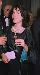 The HON.MRS DANILOVICH daughter of Lord Forte,  at a reception in London on 22nd September 1997.MBK 22 WO