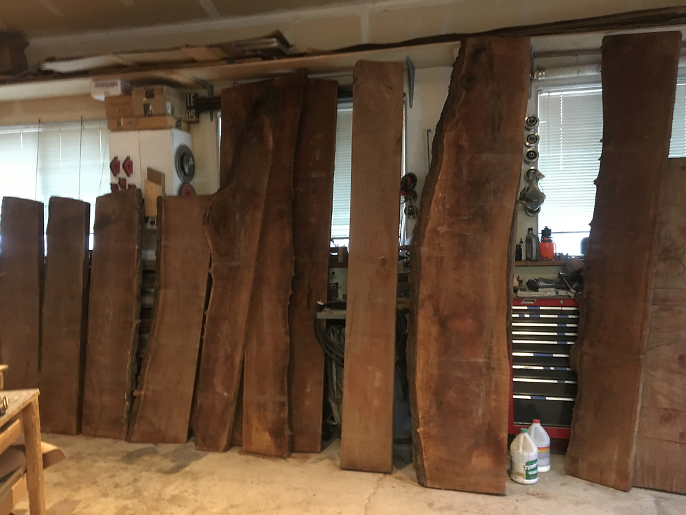 claro walnut for the chairs chair making, jigs, patterns, molds
