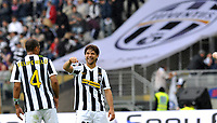 Diego e Felipe Melo (Juventus)<br /> Torino 09/05/2010 Stadio Olimpico<br /> Juventus Parma 2-3 - Campionato di Serie A Tim 2009-10<br /> Foto Insidefoto