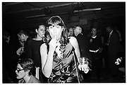 Donna Karan at Donna Karan party, 1996© Copyright Photograph by Dafydd Jones 66 Stockwell Park Rd. London SW9 0DA Tel 020 7733 0108 www.dafjones.com