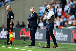 Oxford United manager Michael Appleton - Photo mandatory by-line: Jason Brown/JMP -  02/04//2017 - SPORT - Football - London - Wembley Stadium - Coventry City v Oxford United - Checkatrade Trophy Final