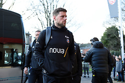 Rhys Priestland and the rest of the Bath Rugby team arrive at Kingsholm Stadium - Mandatory byline: Patrick Khachfe/JMP - 07966 386802 - 04/01/2020 - RUGBY UNION - Kingsholm Stadium - Gloucester, England - Gloucester Rugby v Bath Rugby - Gallagher Premiership
