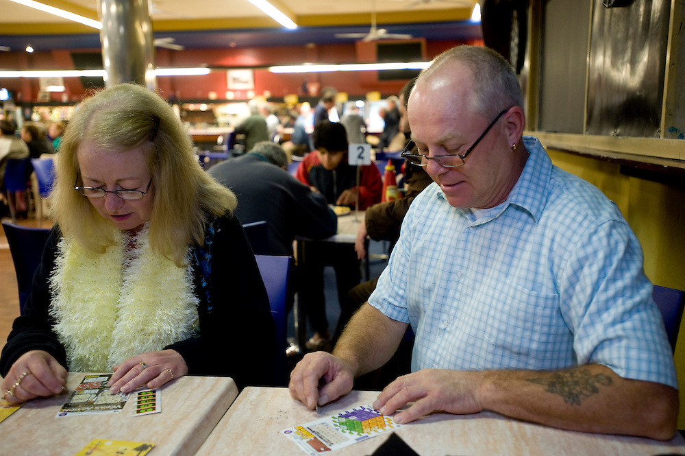 Carol Chapman & Barry O'Byrne - Fremantle Workers' Social and Leisure Club.