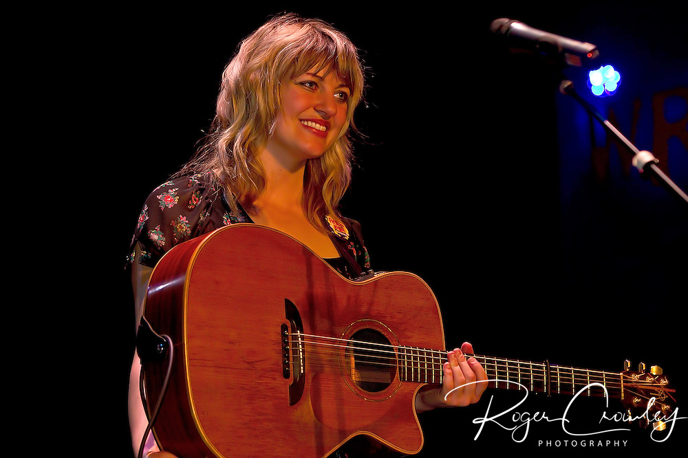 Anais Mitchell in concert at Montpelier High School Smilie Auditorium for First Night 2010.