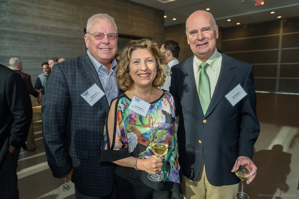 Bill and Ann Bennett and Bill Weyland at the 10-year anniversary celebration of Republic Bank's Private Banking and Business Banking divisions Wednesday, May 17, 2017, at the Speed Art Museum in Louisville, Ky. (Photo by Brian Bohannon)
