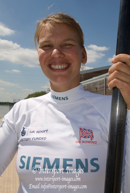 Caversham, Reading, Elise LAVERICK, GB Rowing Team Training at Redgrave Pinsent Lake, Engand [Credit Peter Spurrier/Intersport Images]  [Mandatory Credit, Peter Spurier/ Intersport Images]. , Rowing course: GB Rowing Training Complex, Redgrave Pinsent Lake, Caversham, Reading