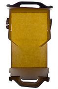 open folded carton paper box