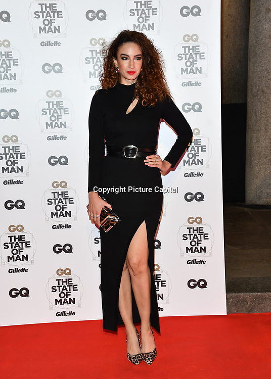 Arrivers at GQ 30th Anniversary celebration at Sushisamba, The Market, Convent Garden on 29 October 2018.