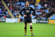 Wasps fly-half Danny Cipriani  during the Aviva Premiership match between Wasps and Exeter Chiefs at the Ricoh Arena, Coventry, England on 18 February 2018. Picture by Dennis Goodwin.