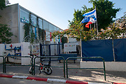 The Marc Chagal French School, Tel Aviv, Chelouche street, Neve Tzedek, Israel