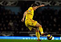 Photo: Alan Crowhurst.<br />West Ham v Liverpool. The Barclays Premiership. 30/01/07. Liverpool's Steven Gerrard.