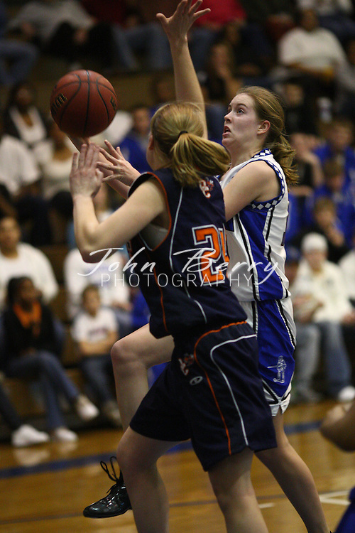 MCHS Varsity Girl's Basketball.vs Orange.1/12/2008.