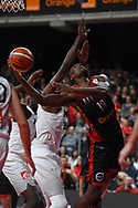 November 24, 2017 - Anvers, Belgique - ANTWERPEN, BELGIUM - NOVEMBER 24 : Kevin TUMBA  of Belgium during the First Round E FIBA World Cup China 2019 Qualifiers match between Belgium and France on November 24, 2017 in Antwerpen, Belgium, 24/11/2017 (Credit Image: © Panoramic via ZUMA Press)
