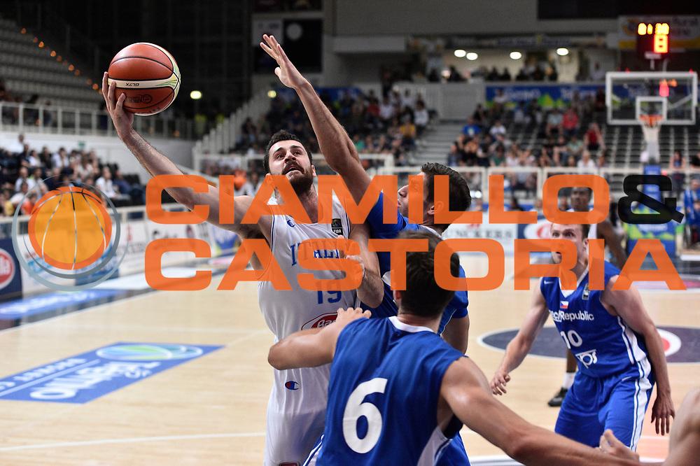 DESCRIZIONE: Trento Trentino basket cup 2016<br /> Italia Repubblica Ceca<br /> GIOCATORE: Andrea Zerini<br /> CATEGORIA: Nazionale Maschile Senior<br /> GARA: Italia Repubblica Ceca<br /> DATA: 17/06/2016<br /> AUTORE: Agenzia Ciamillo-Castoria