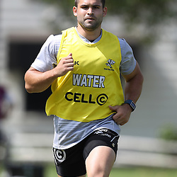 Cobus Reinach during The Cell C Sharks High CNS Rugby / Skills / Field Conditioning KP2, session at Growthpoint Kings Park in Durban, South Africa. December 9th December 2016 (Photo by Steve Haag)<br /> <br /> images for social media must have consent from Steve Haag