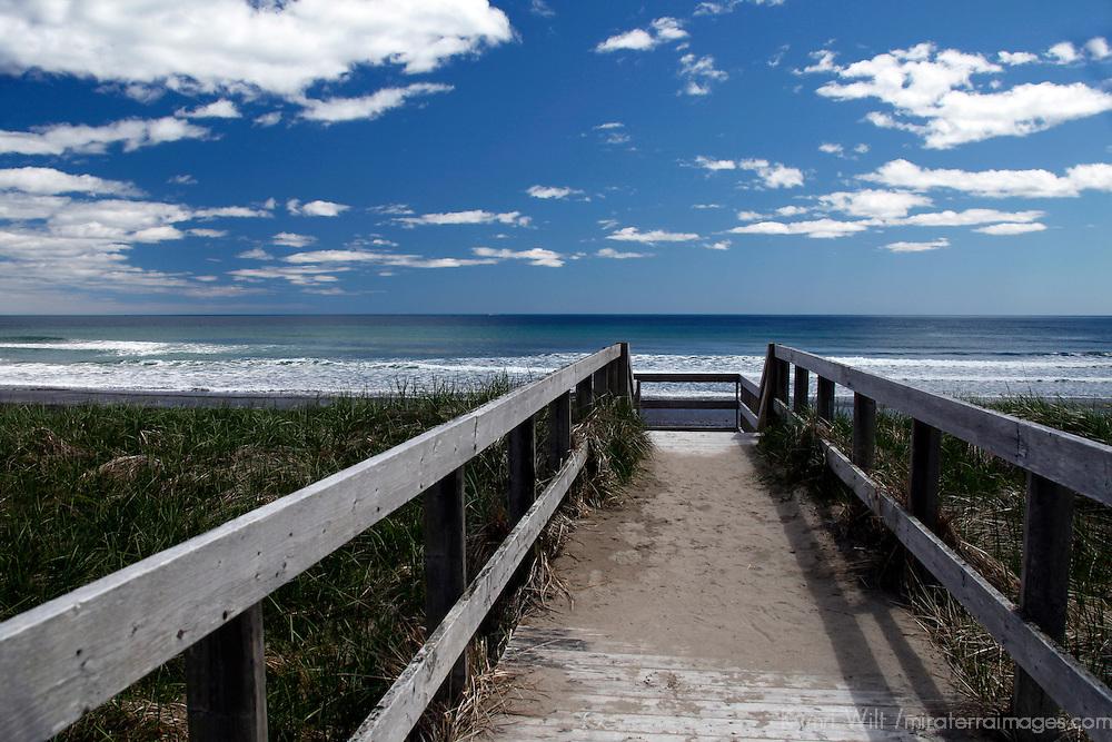 North America, Canada, Nova Scotia. Martinique Beach Provincial Park, a beautiful spot on the Eastern Shore.