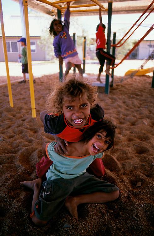 Playtime for Tuwannah & Adiliah. YIYILI school