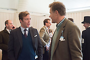 ED OLVER; LORD ROTHERMERE, Side-Saddle Dash, Southern Spinal Injuries Trust charity Day. Wincanotn. 25 October 2015.