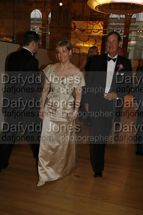 HRH The Countess of Wessex, Paul Arengo-Turner. The Blush Ball, Natural History Museum, London<br />