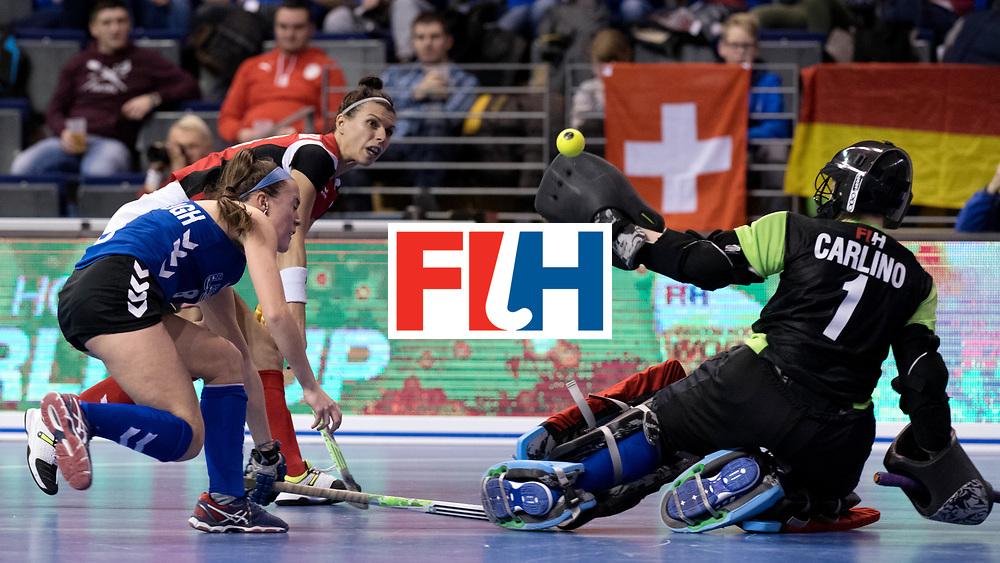 BERLIN - Indoor Hockey World Cup<br /> Women: Poland - USA<br /> foto: <br /> WORLDSPORTPICS COPYRIGHT FRANK UIJLENBROEK