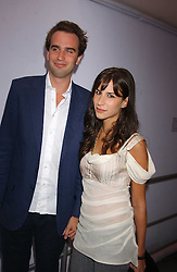 FRITZ VON WESTENHOLTZ and CAROLINE SIEBER at a polo players party hosted by AJM International Publishing and Cartier celebrating the 21st anniversary of the Cartier International Polo held at The Collection, London SW3 on 19th July 2005.<br /><br />NON EXCLUSIVE - WORLD RIGHTS