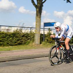 31-08-2017: Wielrennen: Boels Ladies Tour: Roosendaal<br /> Ellen van Dijk takes 2end place in ITT at Roosendaal