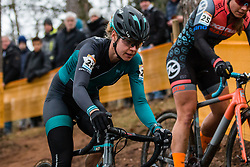 HOEKE Geerte (NED) during Women Elite race, 2019 UCI Cyclo-cross World Cup Heusden-Zolder, Belgium, 26 December 2019. <br /> <br /> Photo by Pim Nijland / PelotonPhotos.com <br /> <br /> All photos usage must carry mandatory copyright credit (Peloton Photos | Pim Nijland)