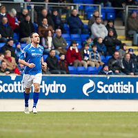 St Johnstone v Dundee United...11.02.12.. SPL<br /> Lee Croft<br /> Picture by Graeme Hart.<br /> Copyright Perthshire Picture Agency<br /> Tel: 01738 623350  Mobile: 07990 594431