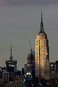 USA, NY, New York City, Manhattan, Empire State Building