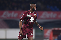 February 17, 2019 - Naples, Naples, Italy - Nicolas Nkoulou of Torino FC during the Serie A TIM match between SSC Napoli and FC Torino at Stadio San Paolo Naples Italy on 17 February 2019. (Credit Image: © Franco Romano/NurPhoto via ZUMA Press)