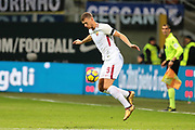 Edin Dzeko of AS Roma during the Italian championship Serie A football match between FC Internazionale and AS Roma on January 21, 2018 at Giuseppe Meazza stadium in Milan, Italy - Photo Morgese - Rossini / ProSportsImages / DPPI