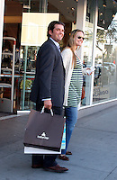 Donald Trump Jr and wife Vanessa Haydon had lunch at The Farm restaurant then went shopping at Baby Gap around Rodeo Drive..Beverly Hills, CA, USA.Thursday January 18, 2007.Photo By Celebrityvibe.com.To license this image please call (212) 410 5354; or.Email: celebrityvibe@gmail.com ;.Website: www.celebrityvibe.com
