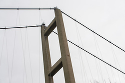 IOSH (The Institution of Occupational Safety and Health) site visit to the Humber Bridge.<br /> <br /> Picture: Chris Vaughan Photography for IOSH<br /> Date: December 6, 2017