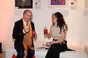 TONY GLENVILLE; MARIE HELVIN, Tunnel of Love. Funfair party The Mending Broken Hearts appeal In aid of the British Heart Foundation. Victoria House, Bloomsbury. London. 17 May 2011. <br /> <br />  , -DO NOT ARCHIVE-© Copyright Photograph by Dafydd Jones. 248 Clapham Rd. London SW9 0PZ. Tel 0207 820 0771. www.dafjones.com.