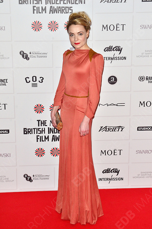 09.DECEMBER.2012. LONDON<br /> <br /> CHRISTINE BOTTOMLEY ATTENDS THE BRITISH INDEPENDENT FILM AWARDS AT OLD BILLINGSGATE MARKET. <br /> <br /> BYLINE: JOE ALVAREZ/EDBIMAGEARCHIVE.CO.UK<br /> <br /> *THIS IMAGE IS STRICTLY FOR UK NEWSPAPERS AND MAGAZINES ONLY*<br /> *FOR WORLD WIDE SALES AND WEB USE PLEASE CONTACT EDBIMAGEARCHIVE - 0208 954 5968*