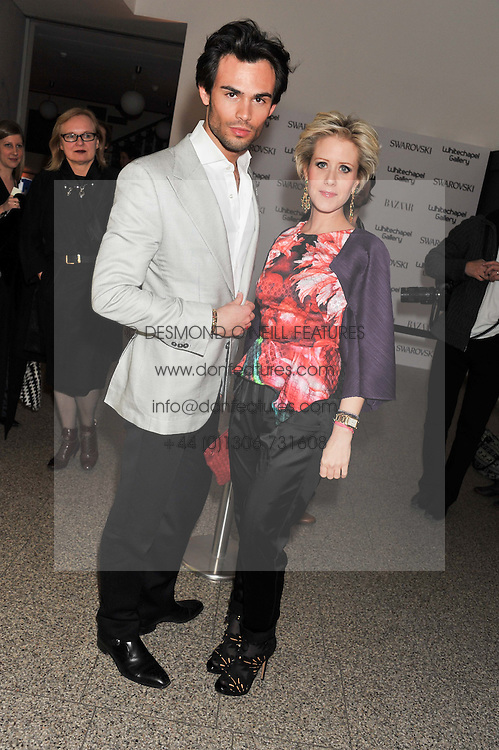 MARK-FRANCIS VANDELLI and ELIZABETH ESTEVE at the Swarovski Whitechapel Gallery Art Plus Fashion fundraising gala in support of the gallery's education fund held at The Whitechapel Gallery, 77-82 Whitechapel High Street, London E1 on 14th March 2013