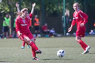 - Forfar Farmington (red) v Raith Rovers (dark blue) - Under 15 East Region Girls League Cup Final at University Grounds, Riverside<br /> <br />  - &copy; David Young - www.davidyoungphoto.co.uk - email: davidyoungphoto@gmail.com
