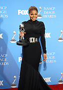 Janet Jackson in the Media Room at The 39th Annual NAACP IMAGE AWARDS held at the Shrine Auditorium in Los Angeles, Calaifornia on February 14, 2008