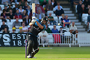 Ross Whiteley during the Natwest T20 Blast North Group match between Nottinghamshire County Cricket Club and Worcestershire County Cricket Club at Trent Bridge, West Bridgford, United Kingdom on 26 July 2017. Photo by Simon Trafford.